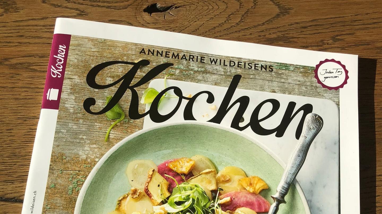 Titel Annemarie Wildeisens Kochen