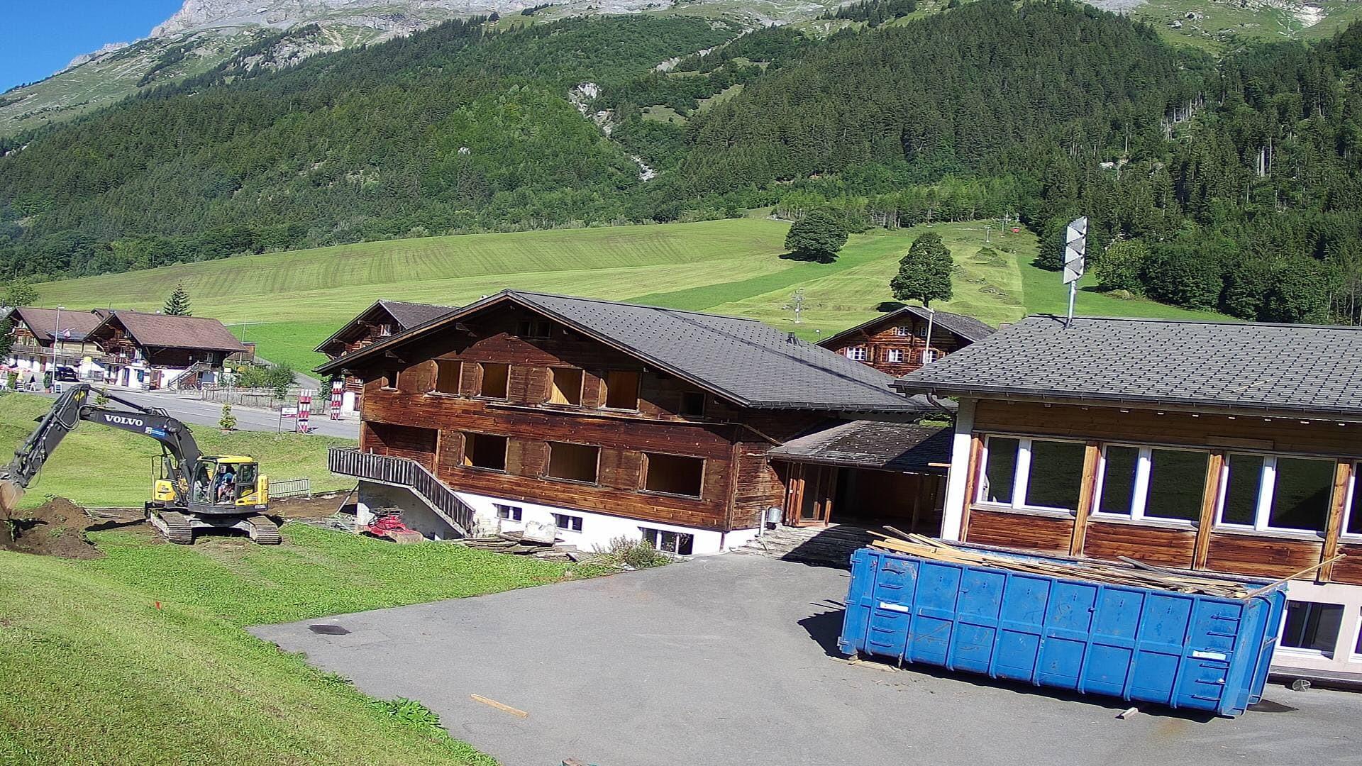 WebCam der Gadmer Lodge